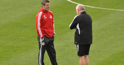 Nelsen (L) and O'Leary