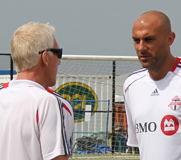 Rongen (L) and Dichio