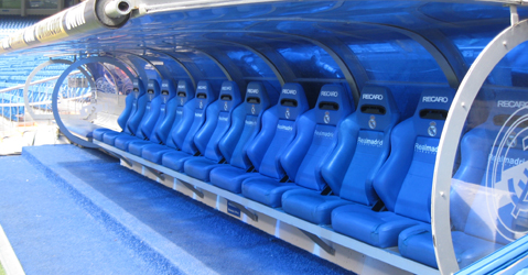 the Bernabéu hotseat