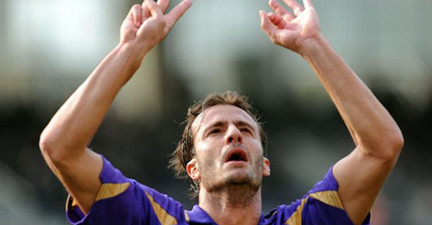 Gilardino with Fiorentina