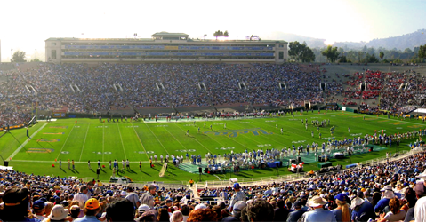 The Rose Bowl, possible site of the final