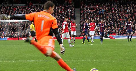 Stoke City's Asmir Begović