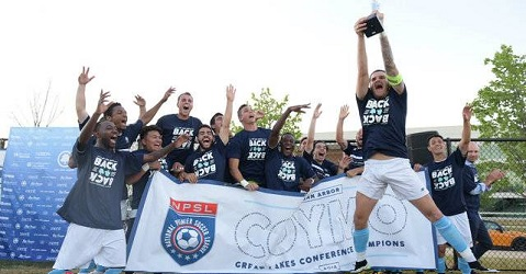 NPSL Great Lakes Conference champions 2018